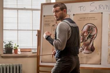 Nico Tortorella as Felix The Walking Dead: World Beyond Season 1, Episode 2 Photo Credit: Jojo Whilden/AMC