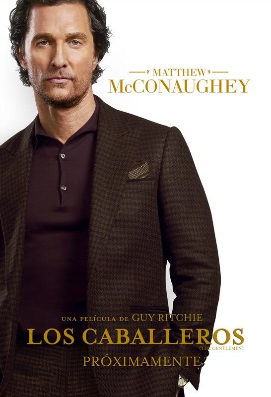 Poster_Los Caballetos_Matthew McConaughey