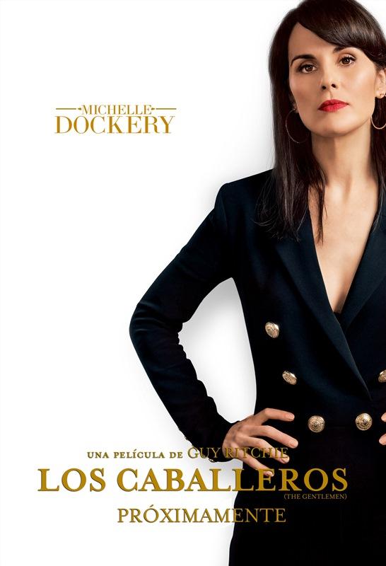 Poster_Los Caballetos_Michelle Dockery