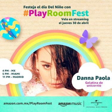 DANNA PAOLA - PLAY ROOM FEST