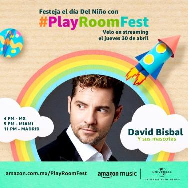 DAVID BISBAL - PLAY ROOM FEST