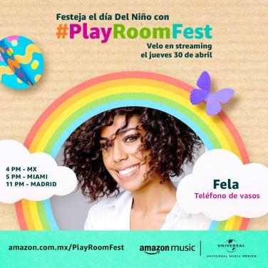 FELA DOMINGUEZ - PLAY ROOM FEST