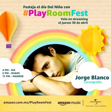 JORGE BLANCO - PLAY ROOM FEST