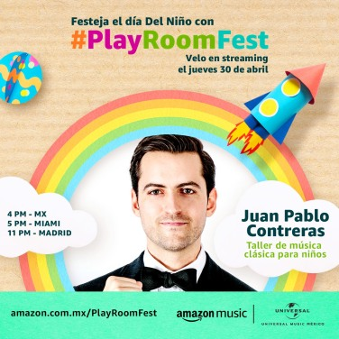 JUAN PABLO CONTRERAS - PLAY ROOM FEST