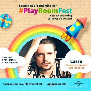 LASSO - PLAY ROOM FEST