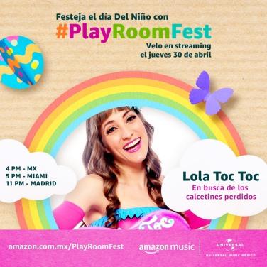 LOLA TOC TOC - PLAY ROOM FEST