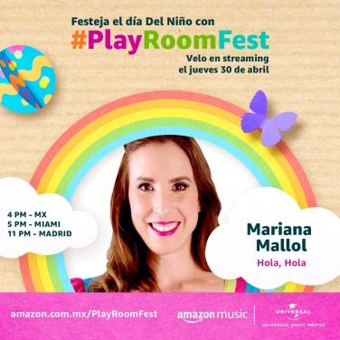 MARIANA MALLOL - PLAY ROOM FEST
