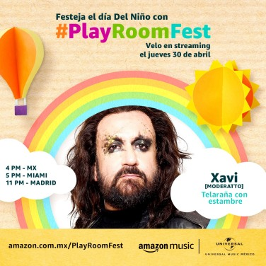 MODERATTO - PLAY ROOM FEST
