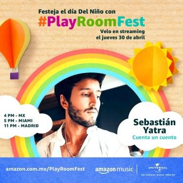 SEBASTIAN YATRA - PLAY ROOM FEST