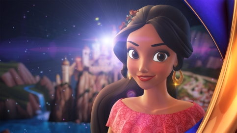 """ELENA OF AVALOR Disney Channel has ordered a third season of its hit series about a brave and adventurous teenager who rules her kingdom as crown princess, """"Elena of Avalor."""" (Disney Channel) ELENA"""