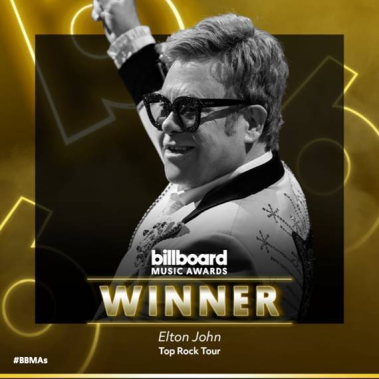 ELTON JOHN - WINNER - BILLBOARD MUSIC AWARDS - UNIVERSAL MUSIC - A