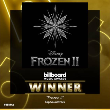 FROZEN II - BILLBOARD MUSIC AWARDS - WINNER - UNIVERSAL MUSIC